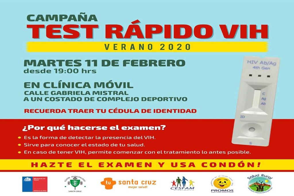 CAMPAÑA TEST RÁPIDO VIH